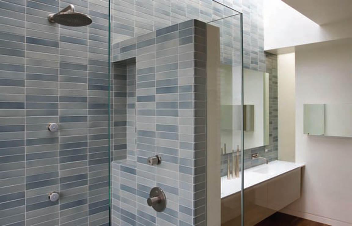 Image of: bathroom ceramic tile design