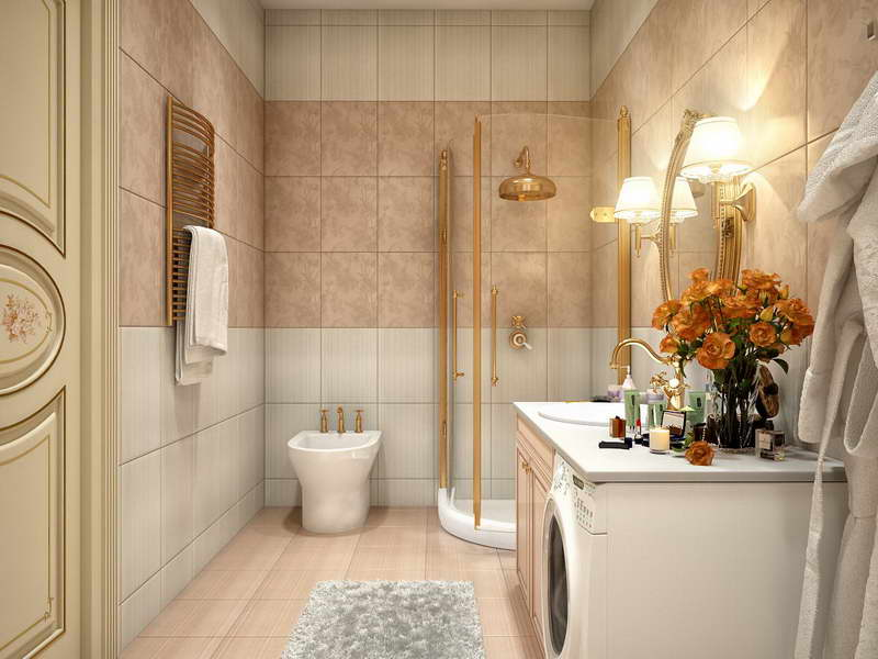 Image of: bathroom designs simple and small