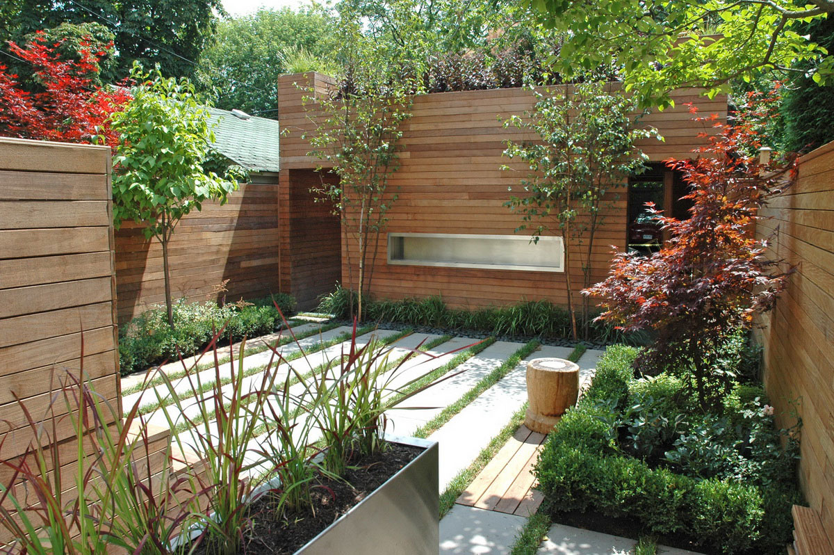 Image of: beautiful small backyard designs