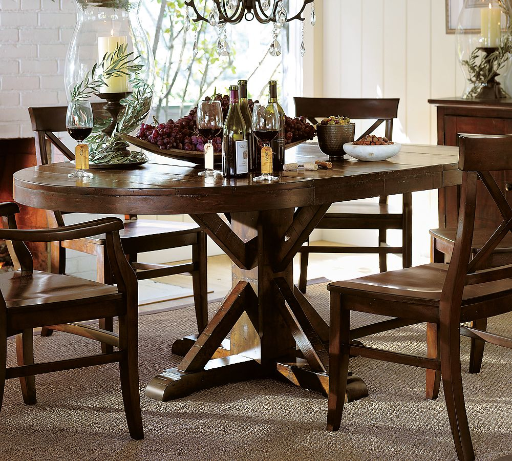 benchwright pedestal table