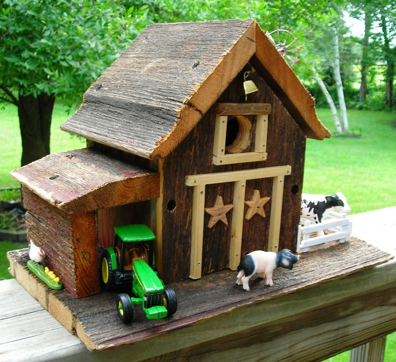 Image of: birdhouse design ideas