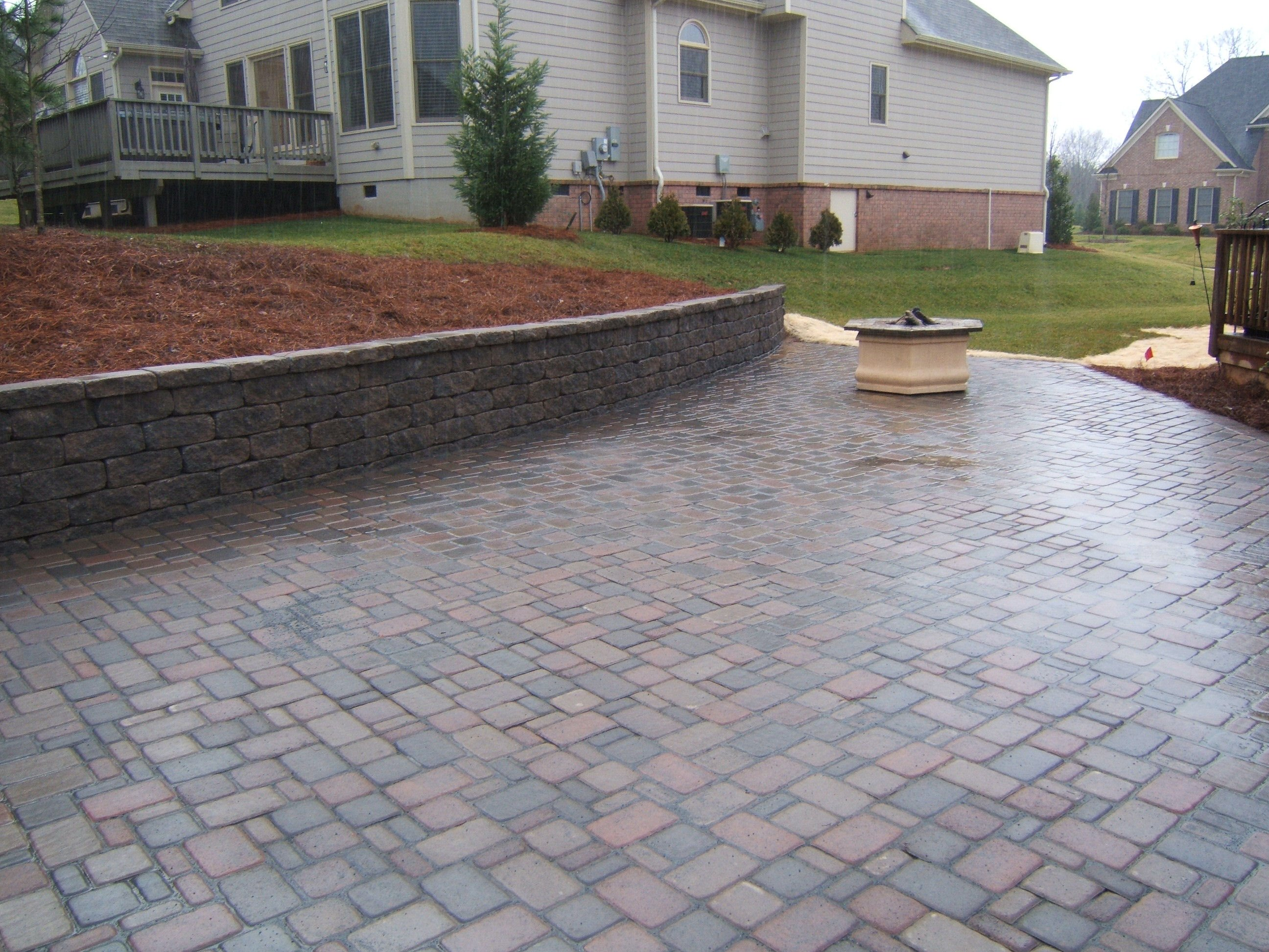 Image of: brick paver patio design ideas