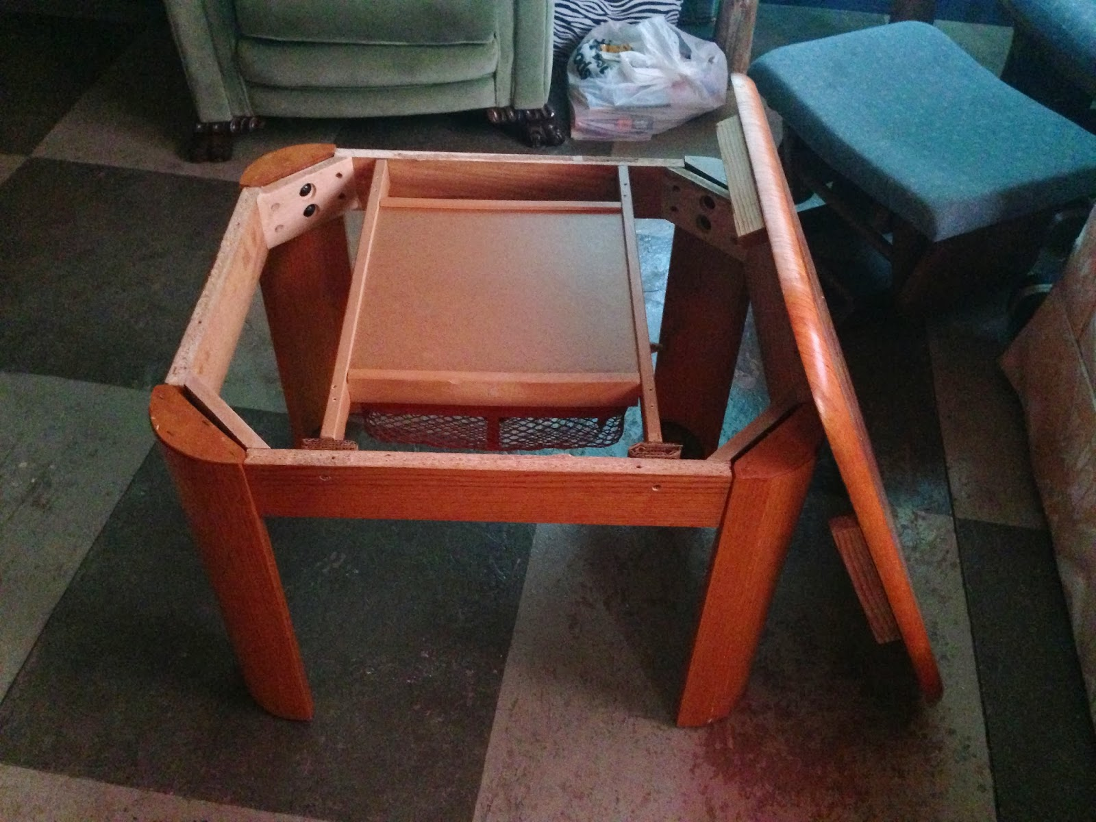 Image of: building a kotatsu table