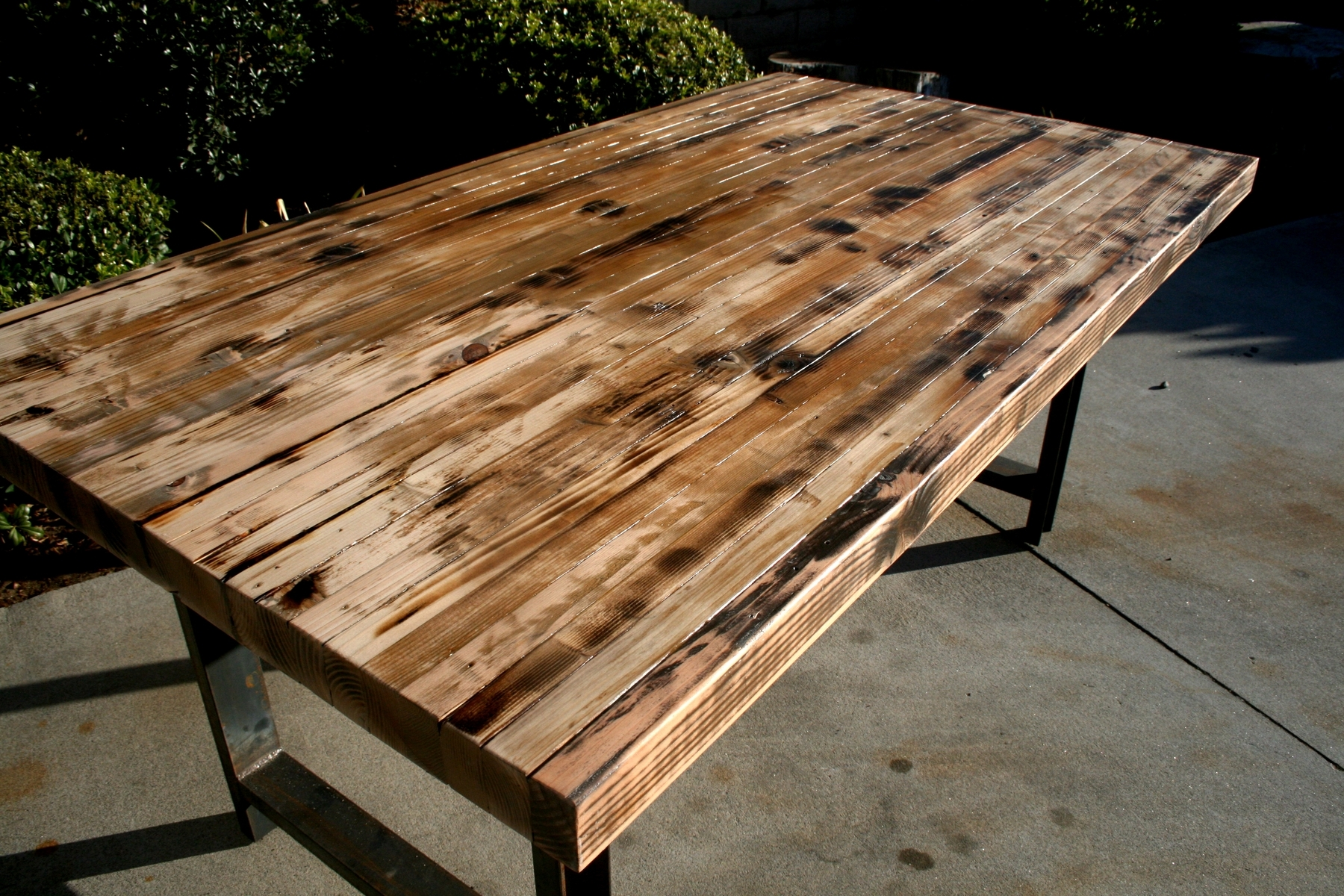 Image of: butcher block kitchen work table