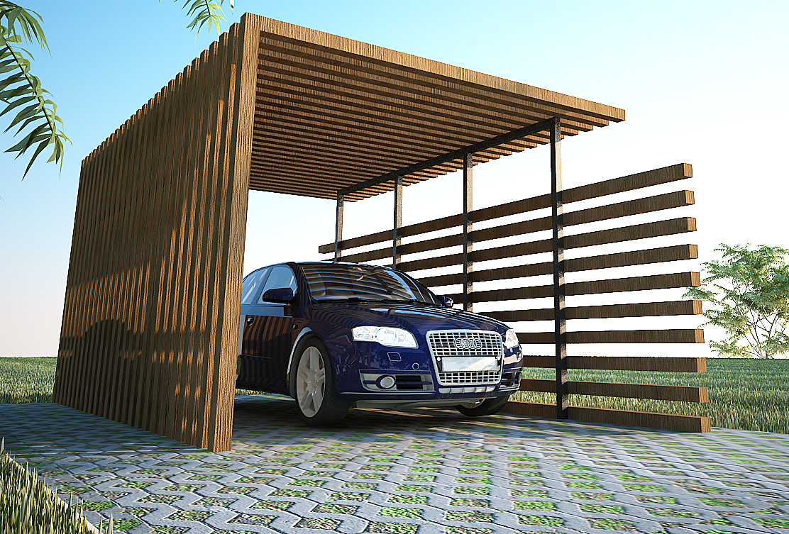 Image of: carport design