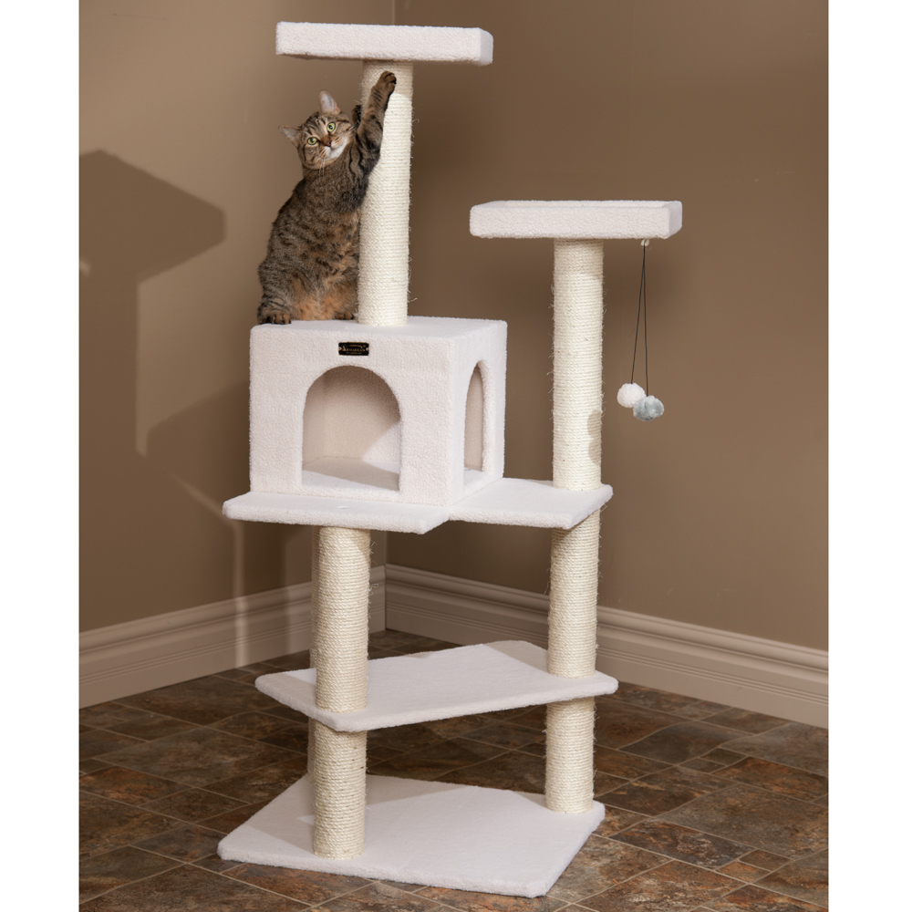 Image of: cat tree assembly instructions