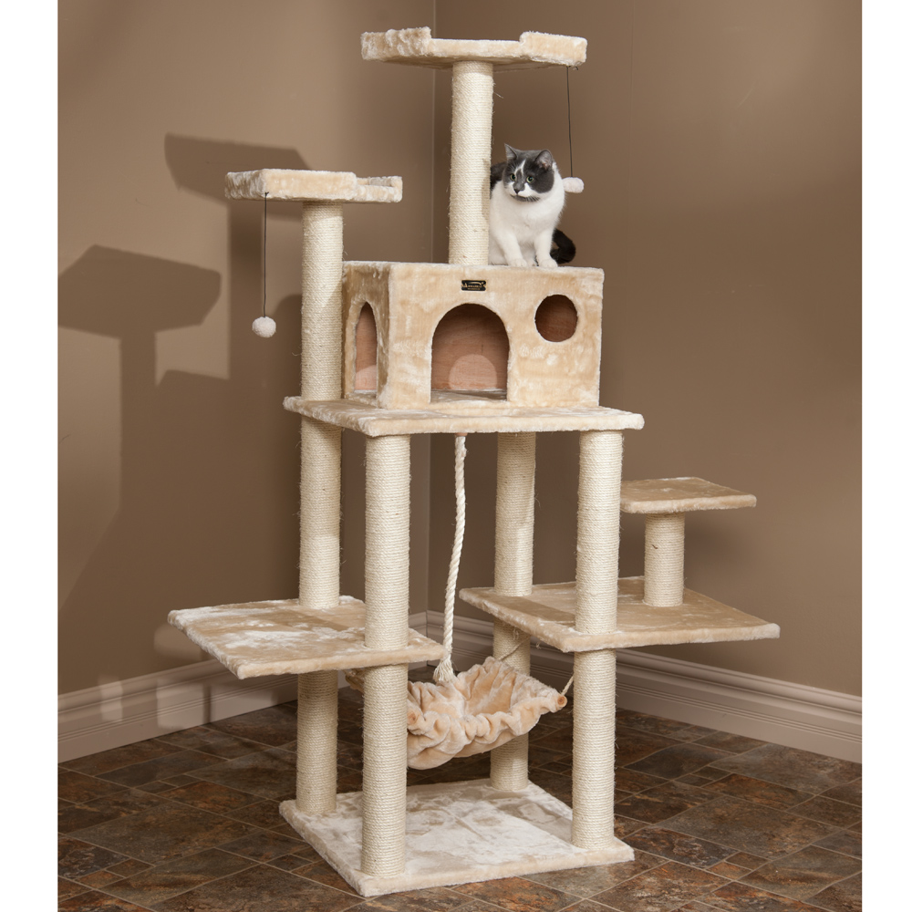 cat tree building instructions