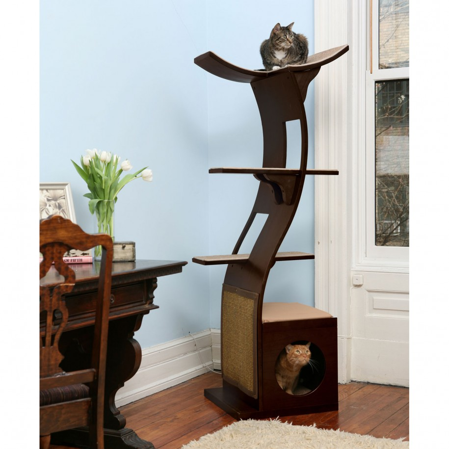 Image of: cat tree plans book