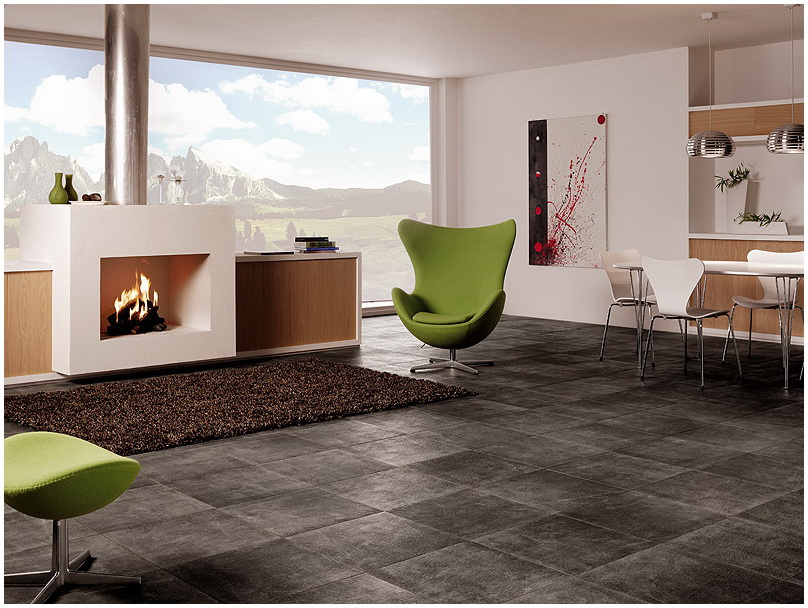 Image of: ceramic floor tile designs