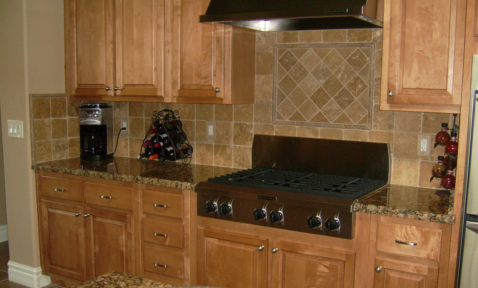 Image of: ceramic tile backsplash designs