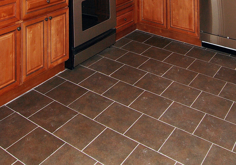 Image of: ceramic tile floor designs