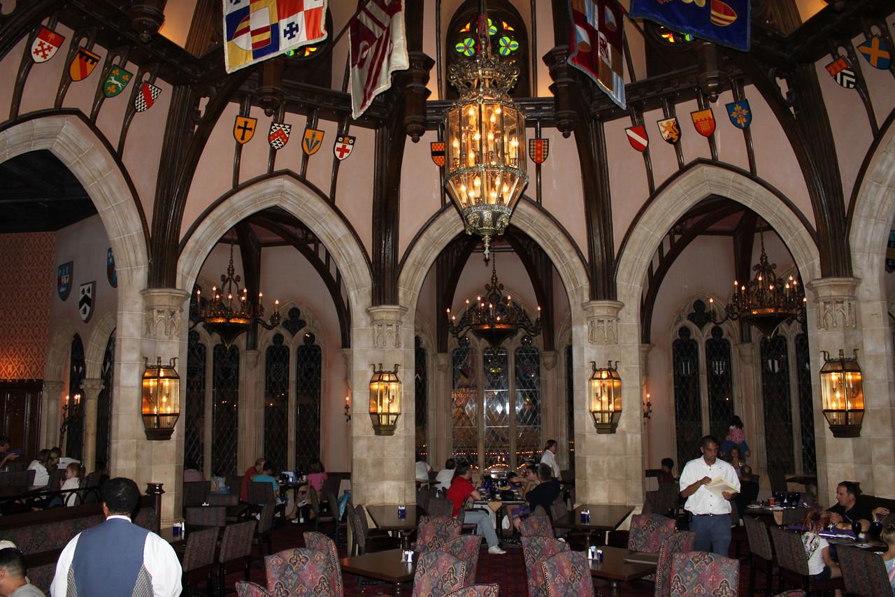 Image of: cinderella royal table at magic kingdom