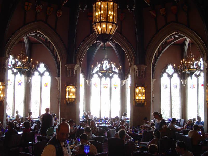 Image of: cinderella royal table disney world