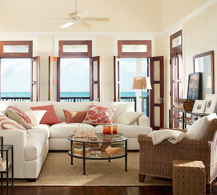 Image of: coastal living beach home decor