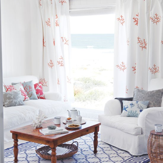 coastal living curtain ideas