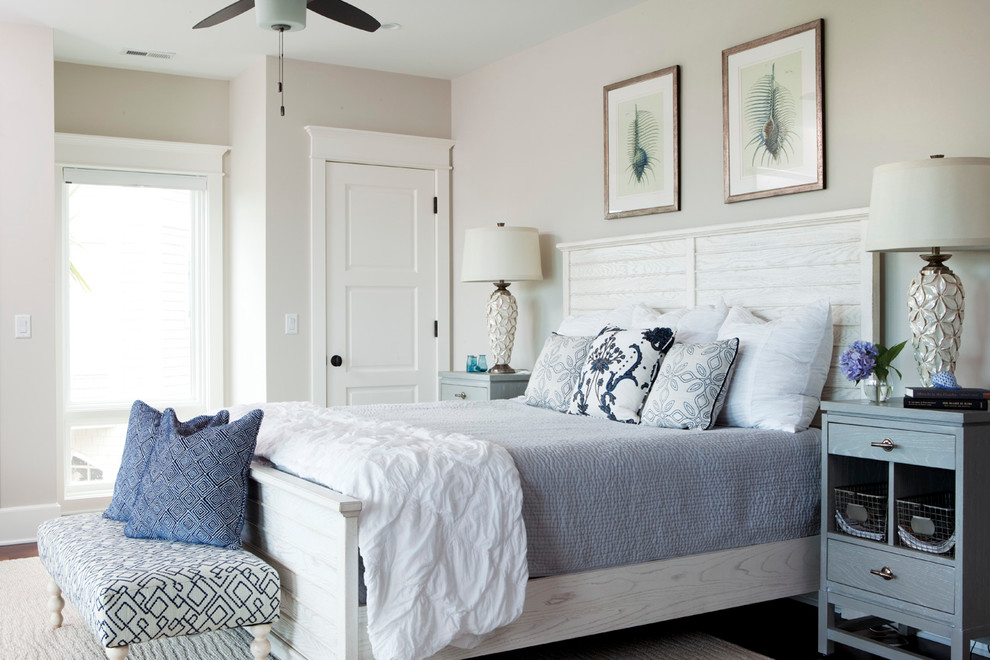 Image of: coastal living decor bedrooms