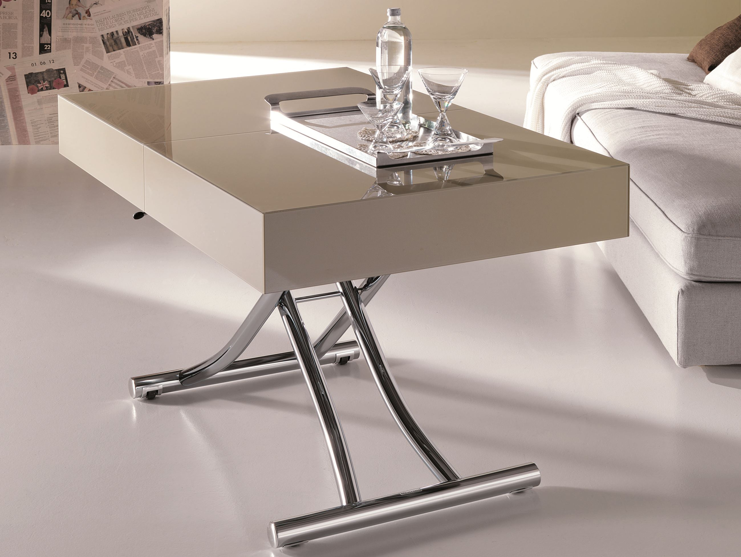 Image of: cosco folding table adjustable height