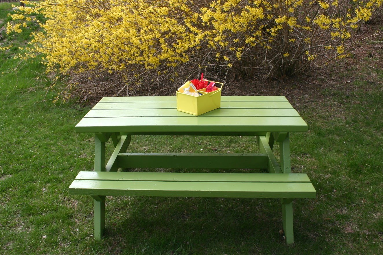 Image of: costco childrens picnic table