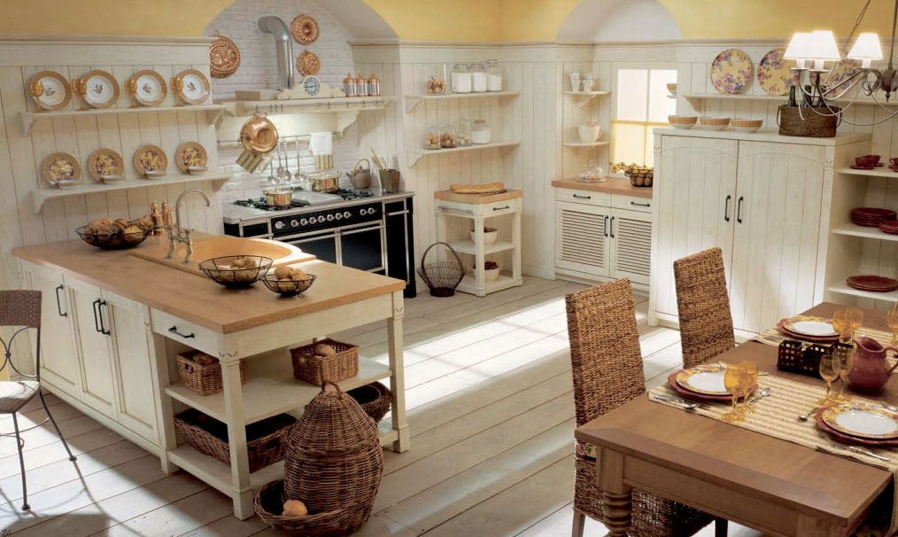 Image of: country kitchens and furniture