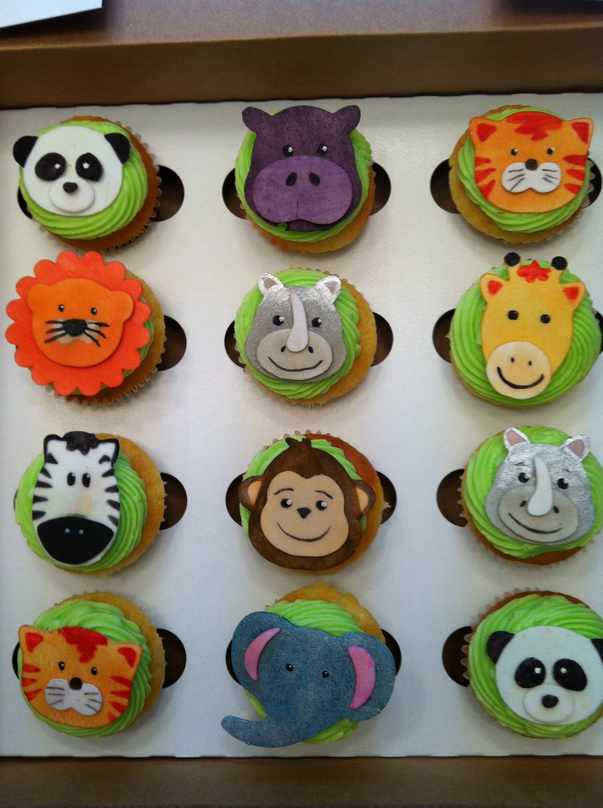 Image of: cupcake decorating ideas animals
