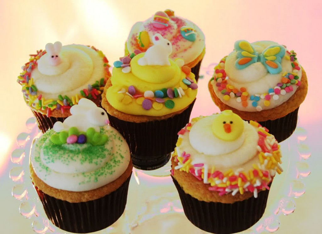 Image of: cupcake decorating ideas easter