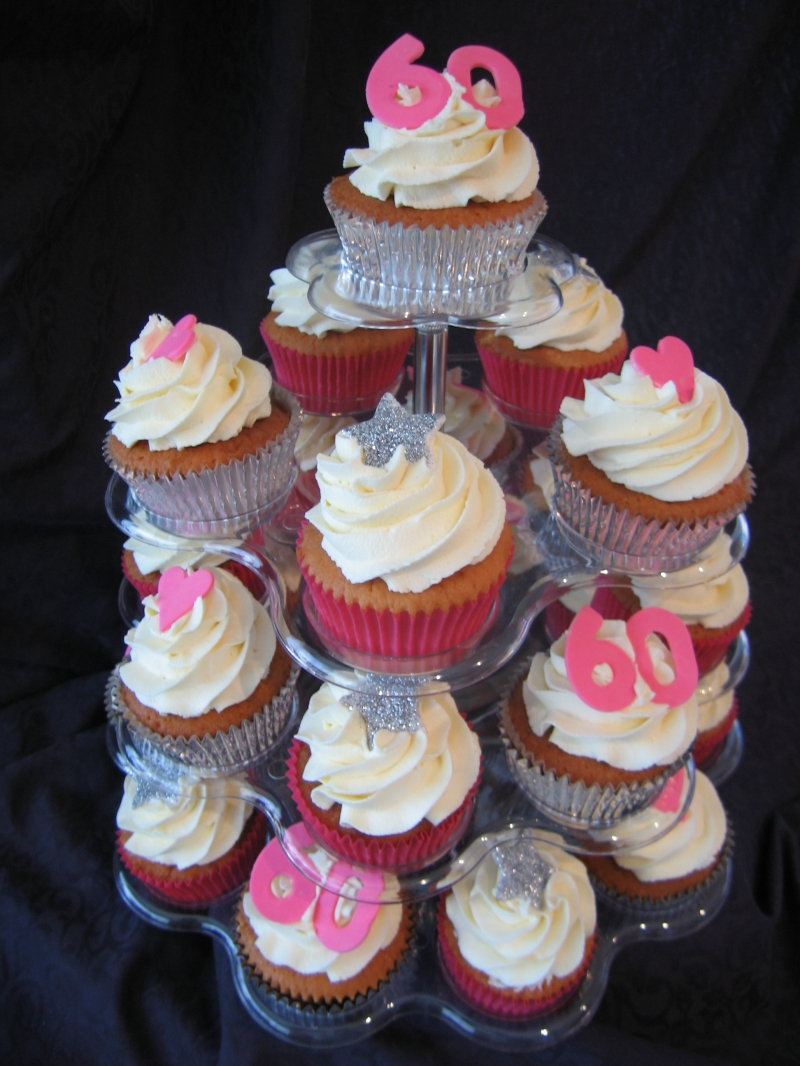 Image of: cupcake decorating ideas for a birthday