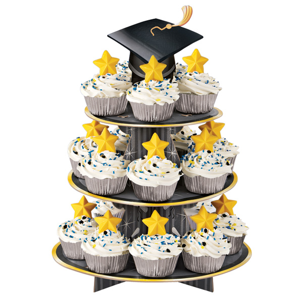 Image of: cupcake decorating ideas for graduation