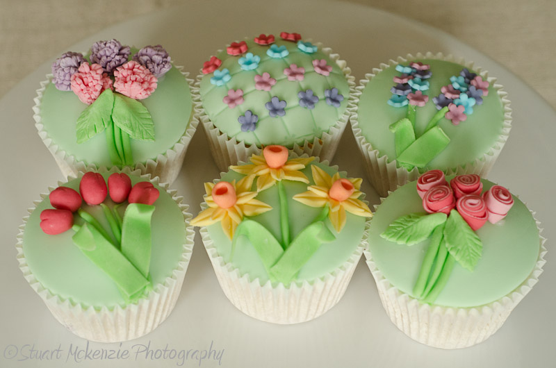 Image of: cupcake decorating ideas for spring