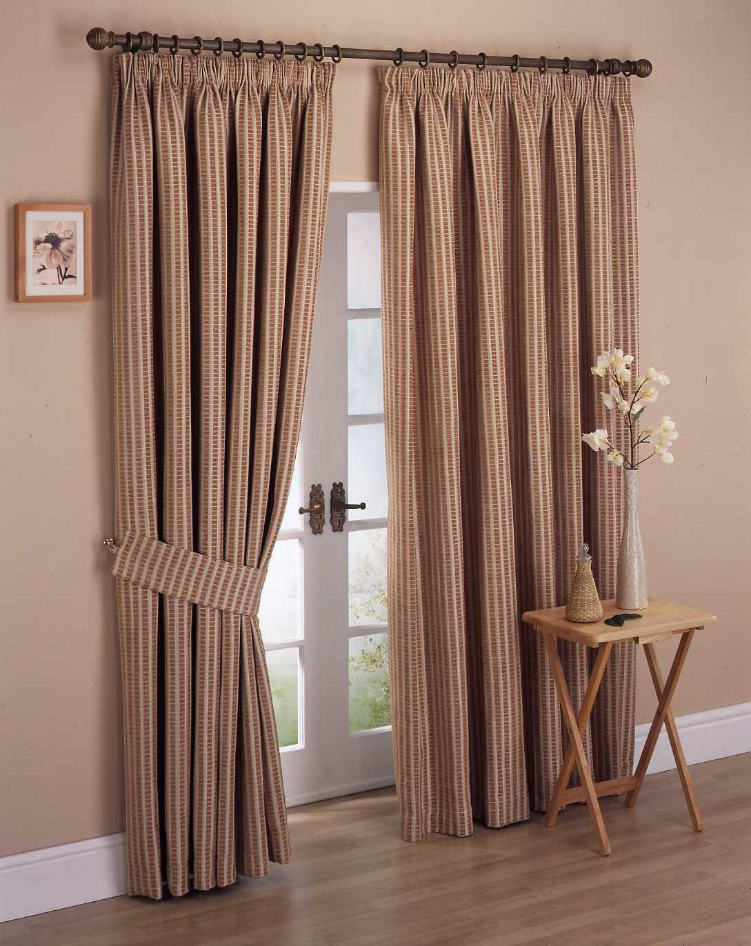 Image of: curtain designs and patterns