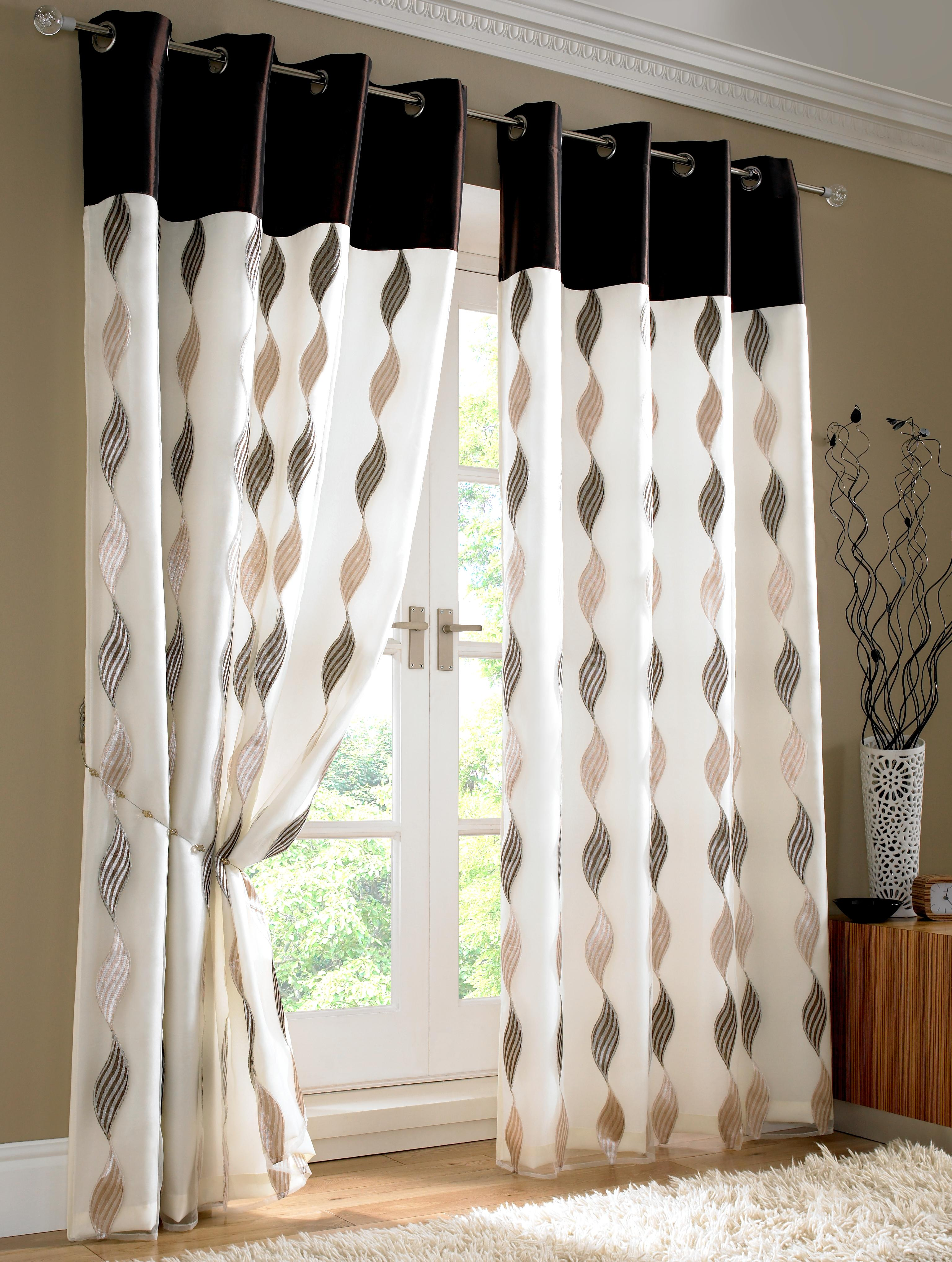 Image of: curtain designs and styles