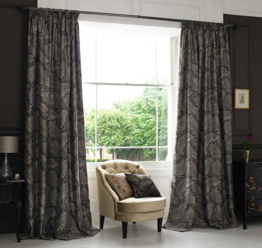 Image of: curtain designs bedroom