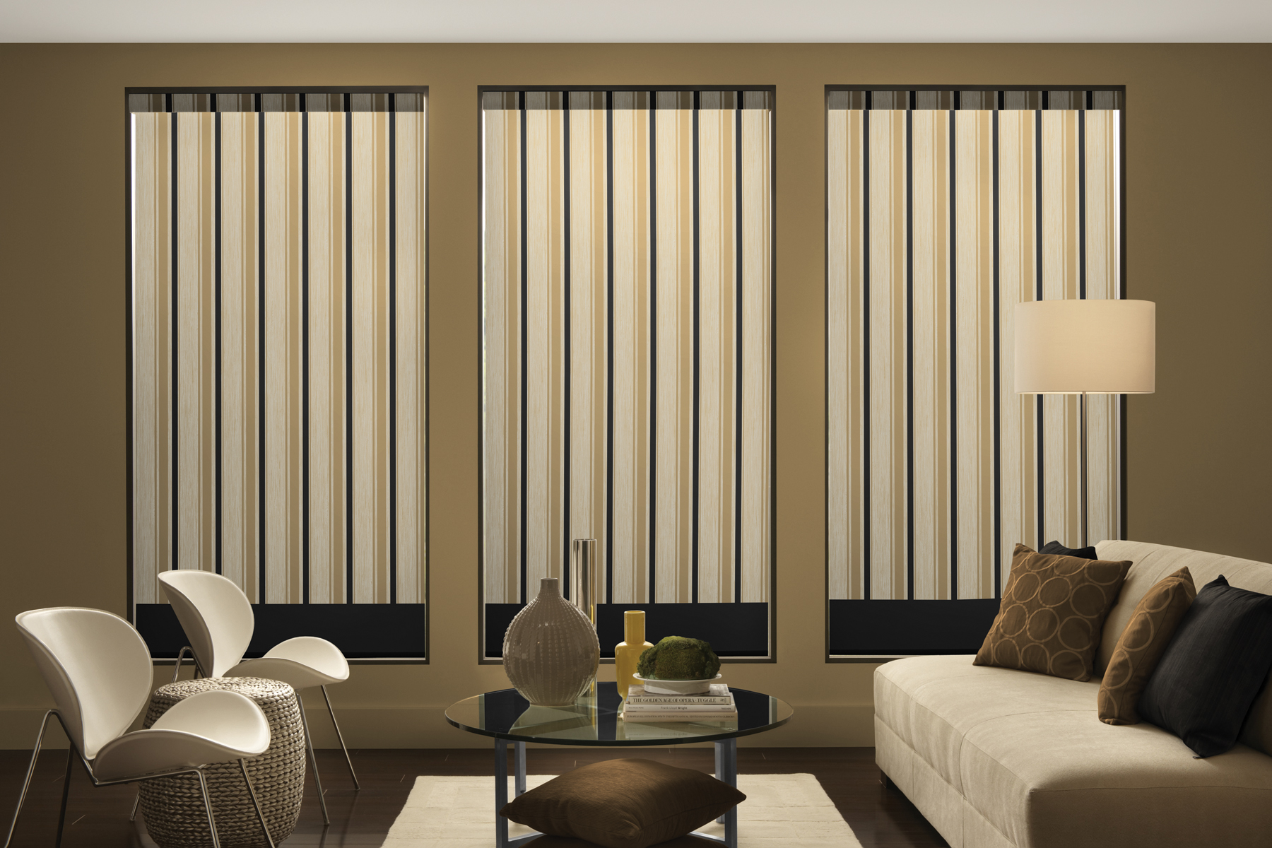 Image of: curtain designs blinds