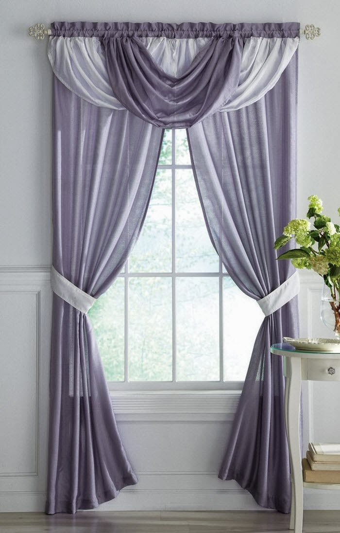 Image of: curtain designs contemporary