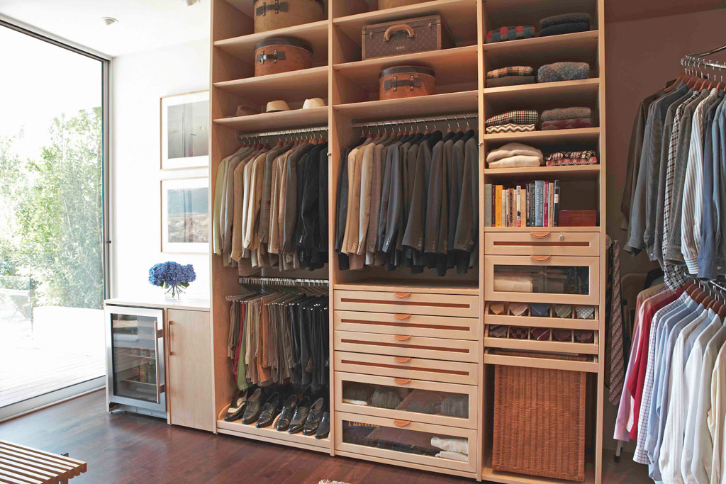 Image of: custom closet by design