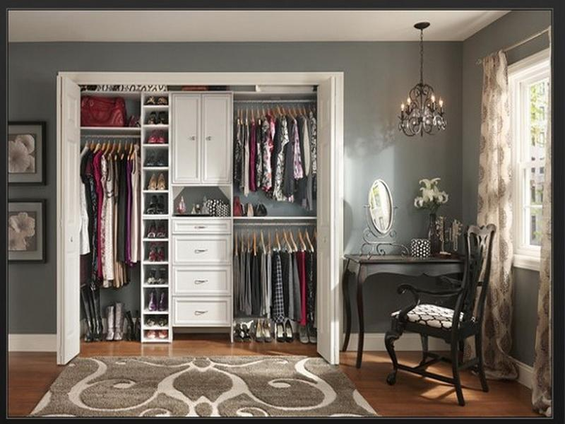 Image of: custom closet design home depot