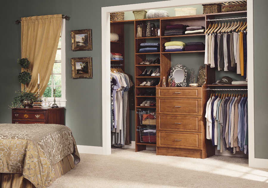 Image of: custom closet design ideas