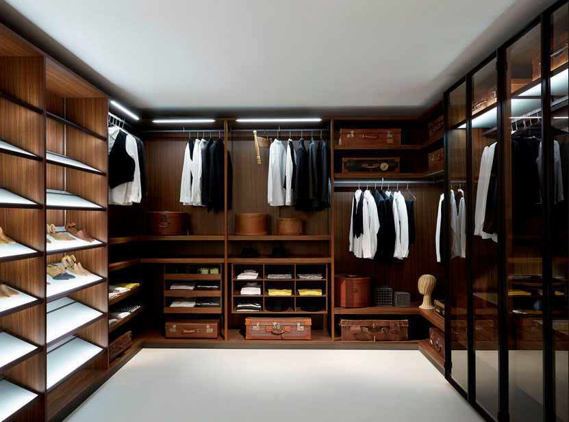 Image of: custom walk in closet design