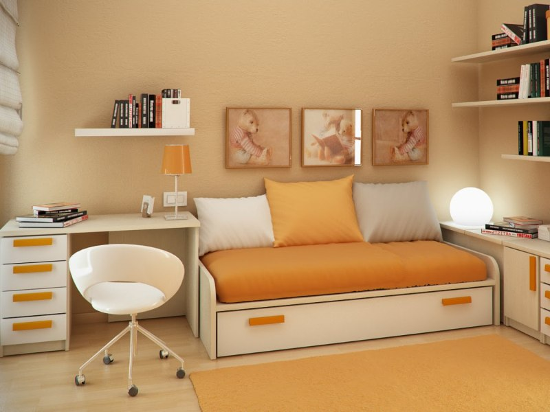 Image of: desk ideas for small bedrooms