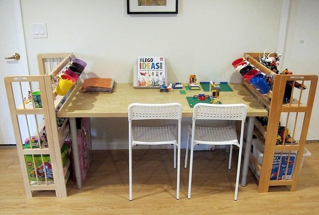 Image of: diy lego table ikea