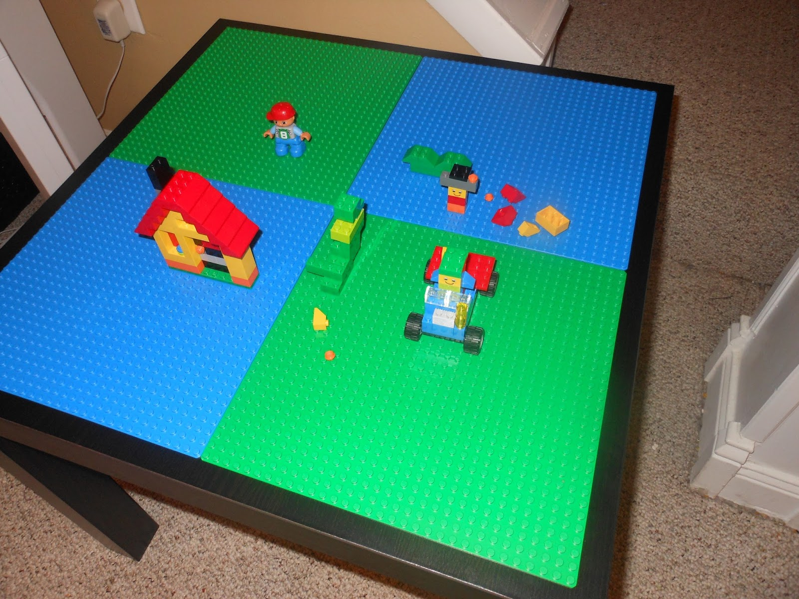 Image of: diy lego table