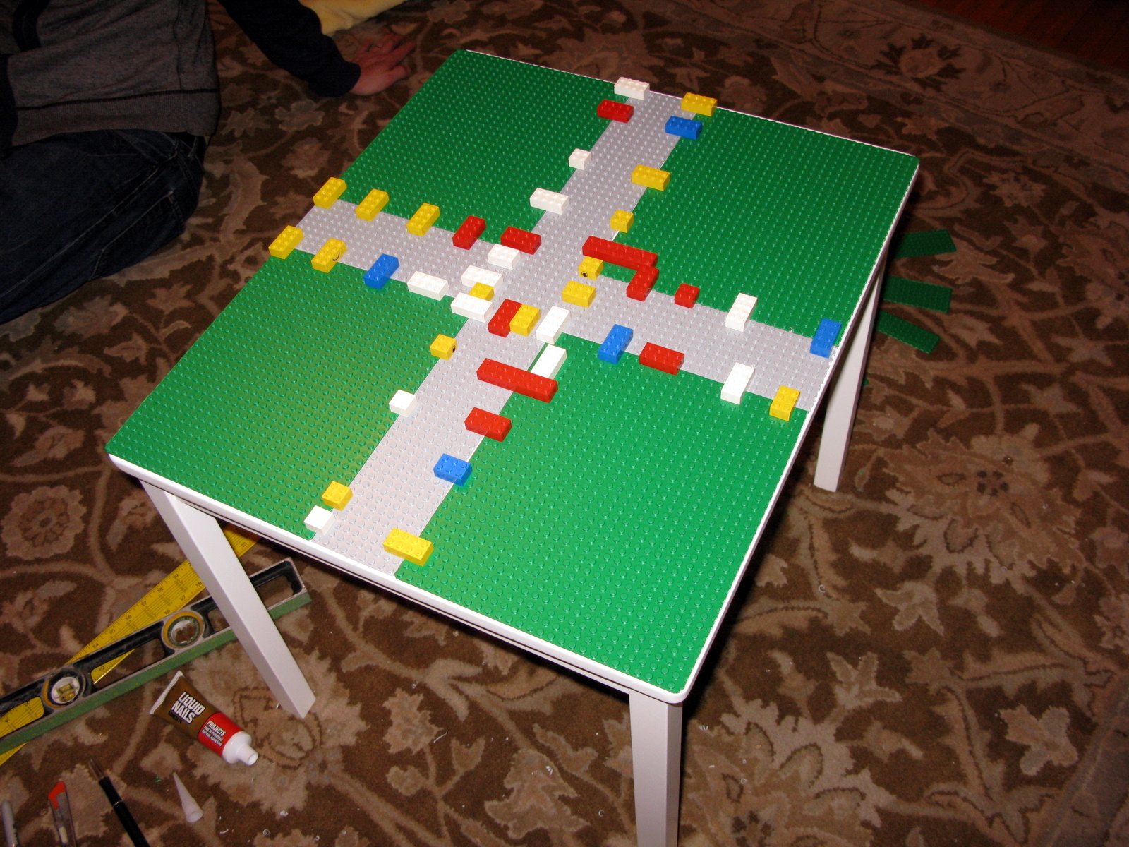 Image of: diy lego tables