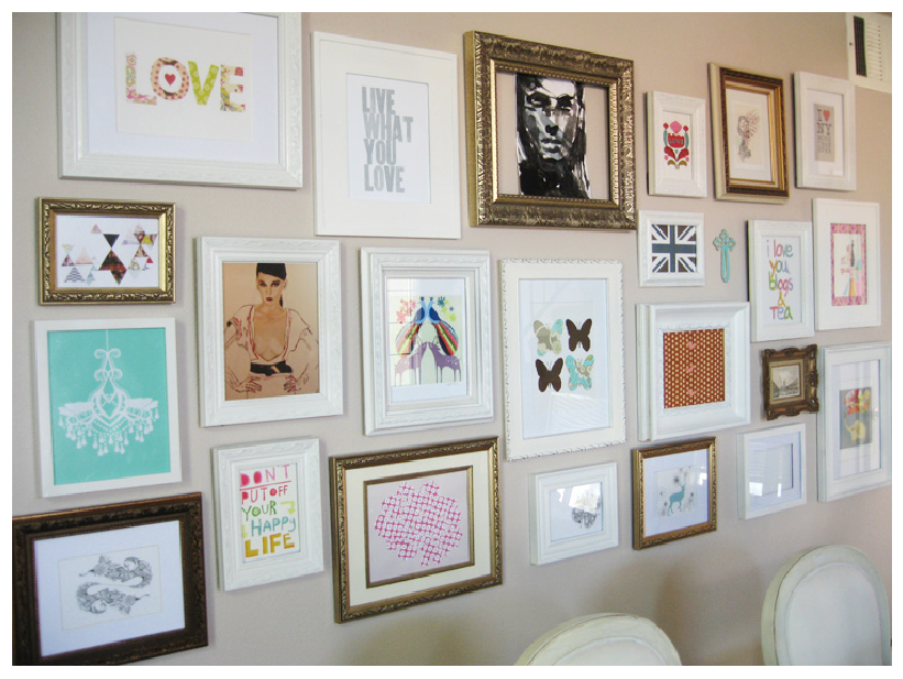 Image of: do it yourself wall art ideas