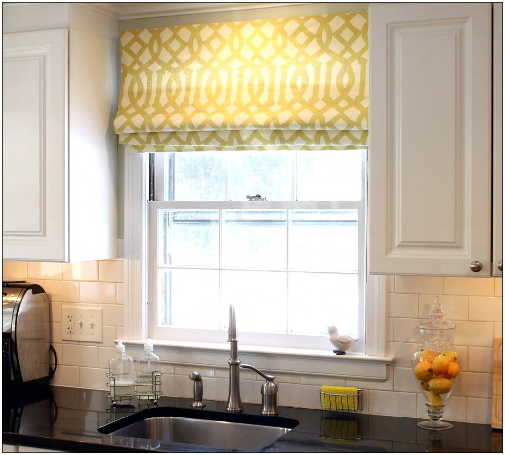 Image of: drapes for kitchen