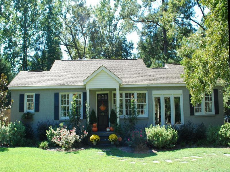 Image of: exterior paint ideas for small houses