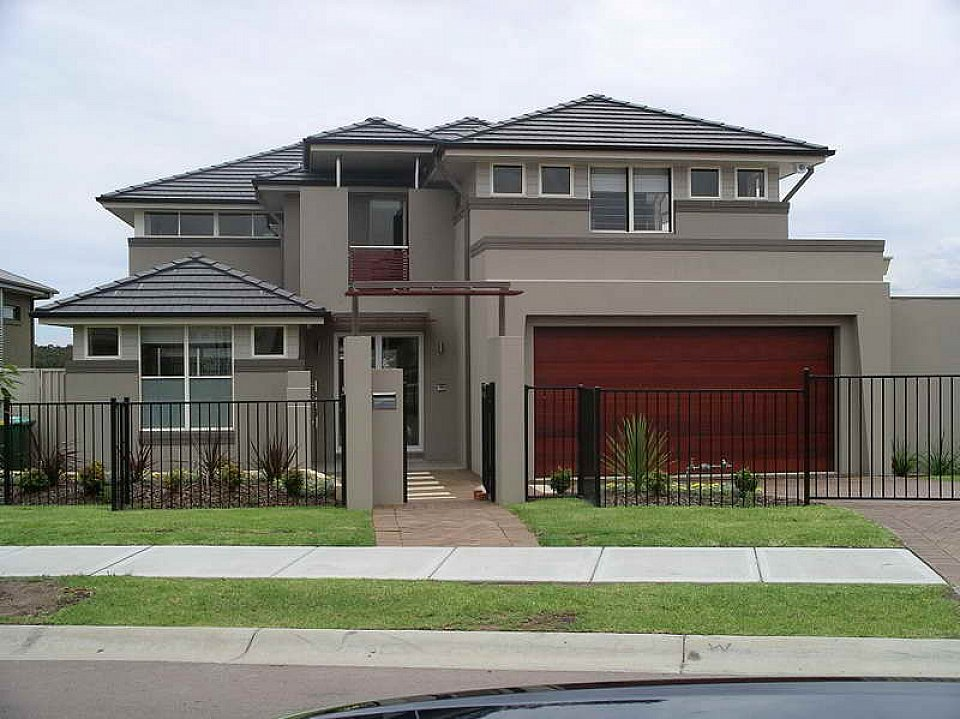 Image of: exterior paint ideas gray roof