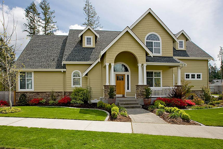 Image of: exterior paint ideas images