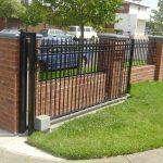 fence designs brick