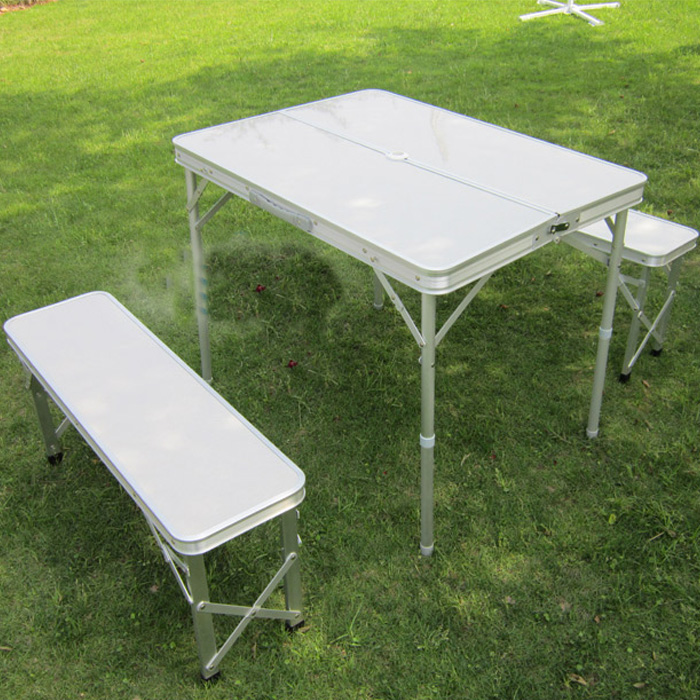 Image of: fold up camping table