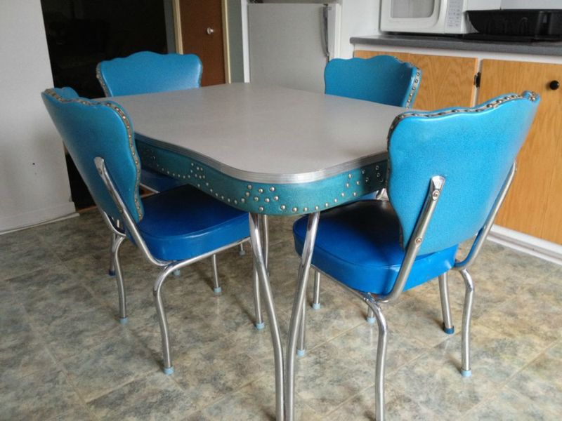 Image of: formica dining table