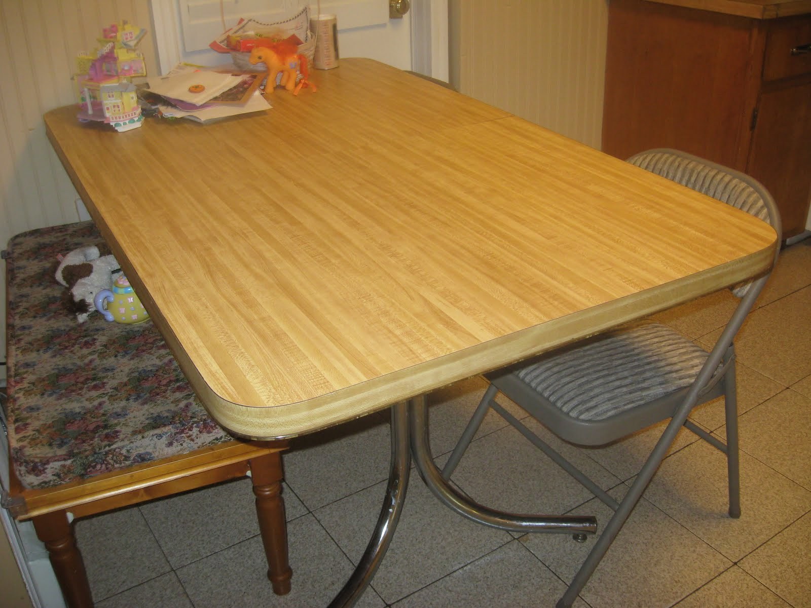 Image of: formica table top